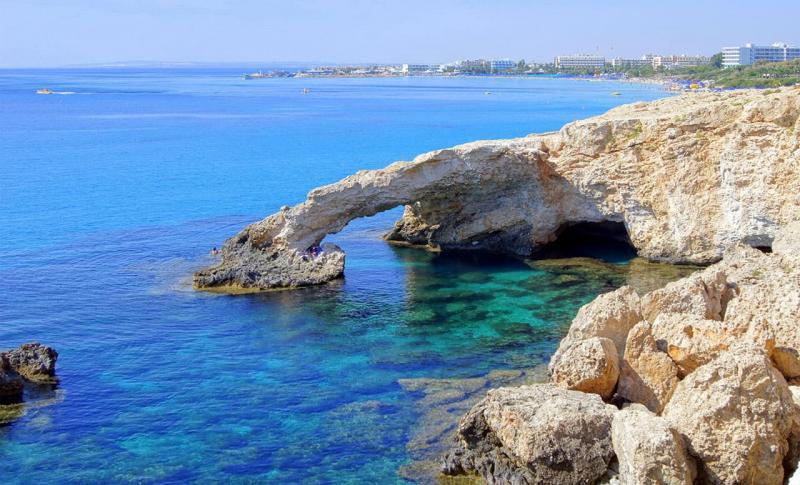 Кипр в феврале - Айя-Напа, Арка влюбленных