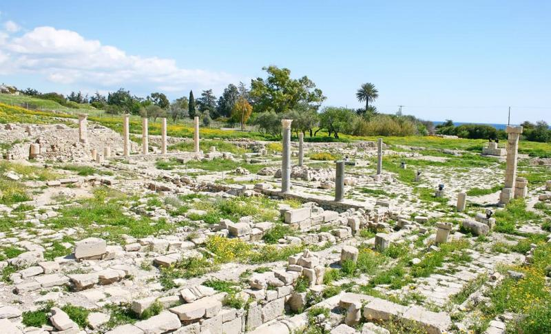 Лимассол, Руины города Аматус