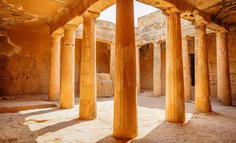 Пафос, Царские гробницы