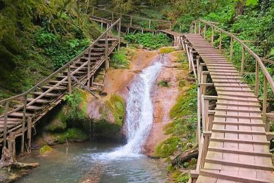 Сочи, водопад